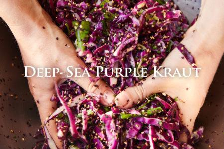 Deep Sea Purple Sauerkraut