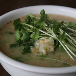 Miso Soup… For The Springtime Soul!