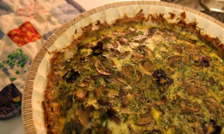 Quiche With Potato Crust