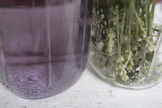 lavender jars