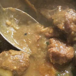 Curried-lamb