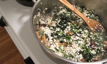 Nettle-risotto