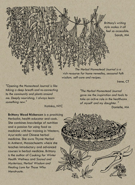 Herbal Homestead Journal