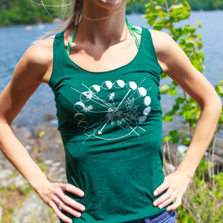 Emerald Green Tank Top