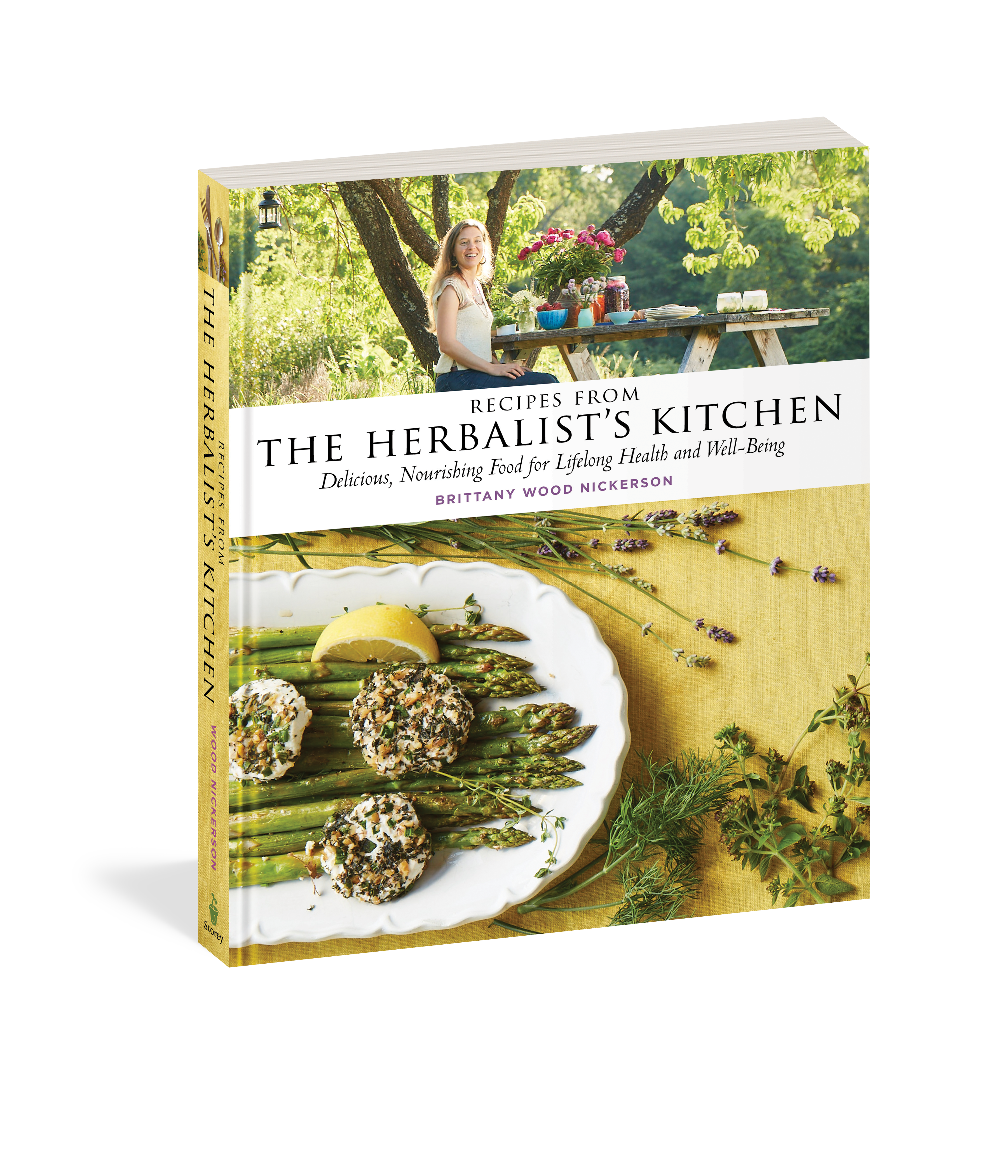 Recipes from the Herbalist's Kitchen, Herbalist's Kitchen, Herbal Cooking, Kitchen Medicine, Cooking with herbs, plant medicine, herbs, herbalism, Brittany Nickerson, Brittany Wood Nickerson, Storey, Storey Publishing, seasonal eating, Western Mass, Massachusetts, Workman, Northampton, Amherst, Boston