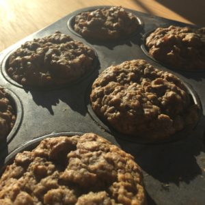Banana Nut And Seed Power Muffins
