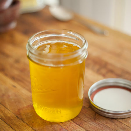 Making Ghee And Herbal Ghee