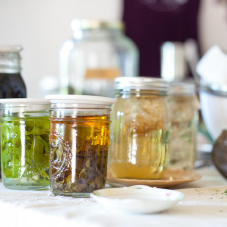 Herbal medicine making from the Art of Home Herbalism Online