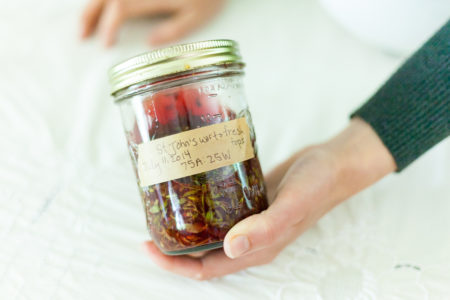 herbal infused vinegar from the Art of Home Herbalism Online